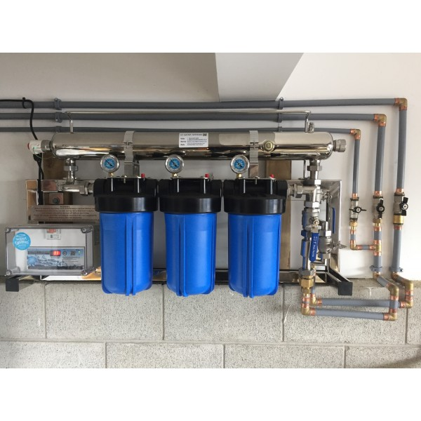3 Filter Residential UV Water Filtration System