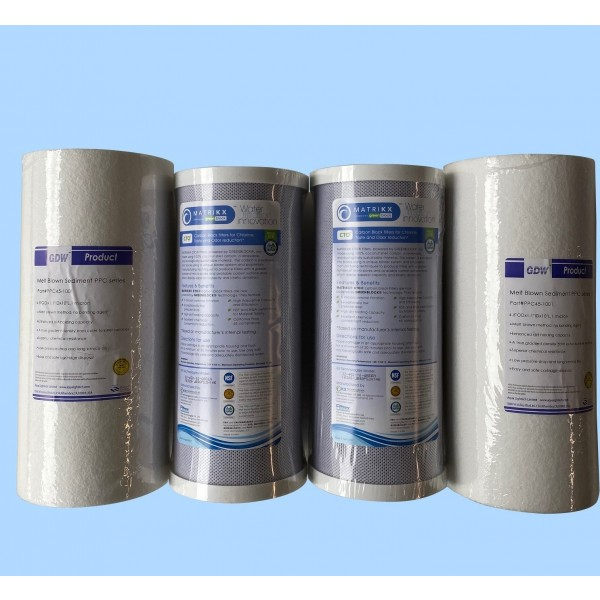 Chlorinated Mains Water Set