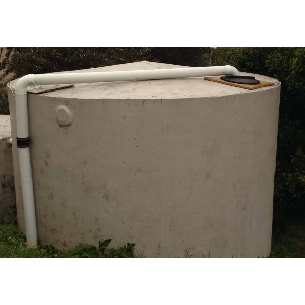 RainCatcher installed into Concrete Tank