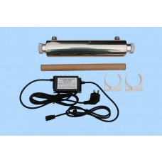Mini 20 watt UV system for spa pool